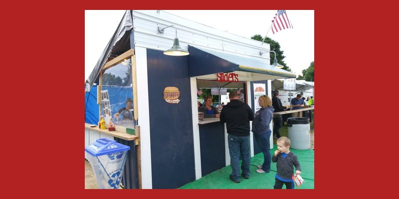 EAA Burger Booth at Kettle Moraine Days