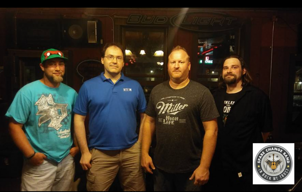 The Spare Change Band will play 80's through today's rock July 3rd at Eagle Diamond Days