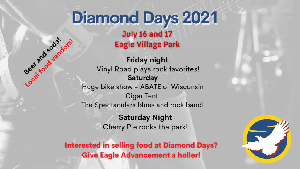 Eagle Diamond Days 2021